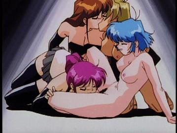 Hentai anime train groping