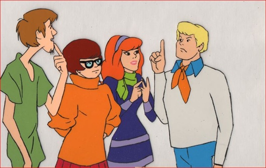 Shaggy Velma Daphne And Fred