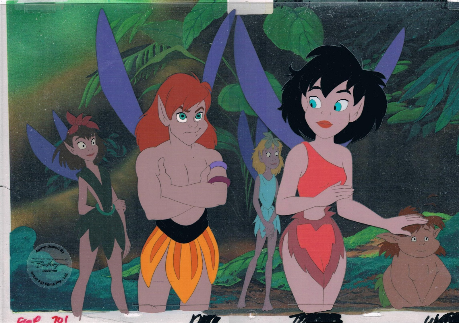 Mycelcollection ferngully the last rainforest