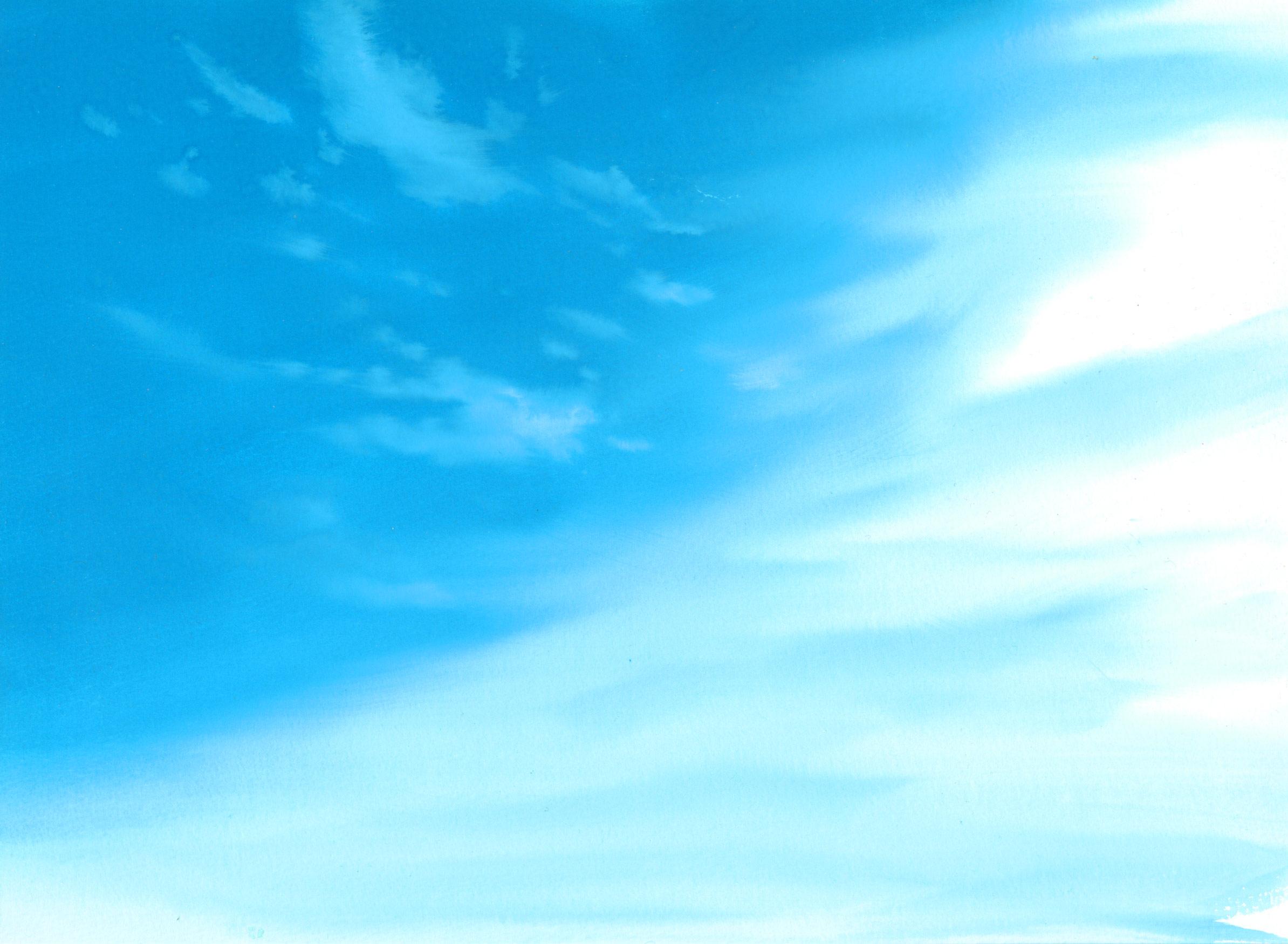 Днем учителя, голубое небо для открытки