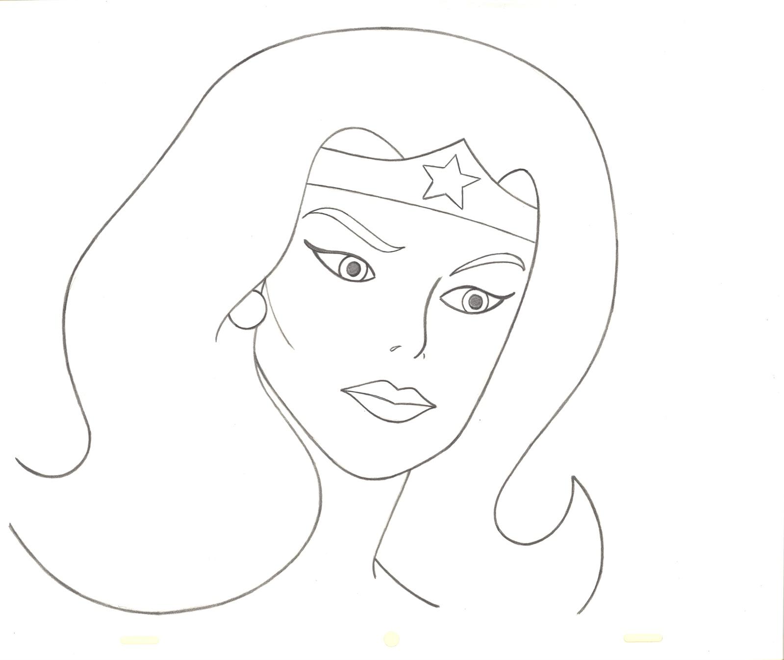 Wonder Woman Original Cel Color Guides Super Friends